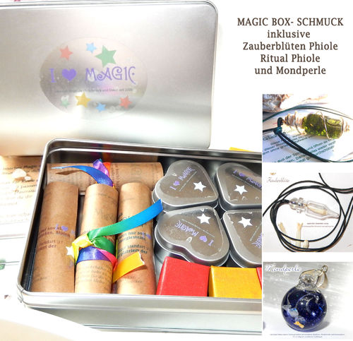 Magic Box *Schmuck* 14 teiliges Magie Set