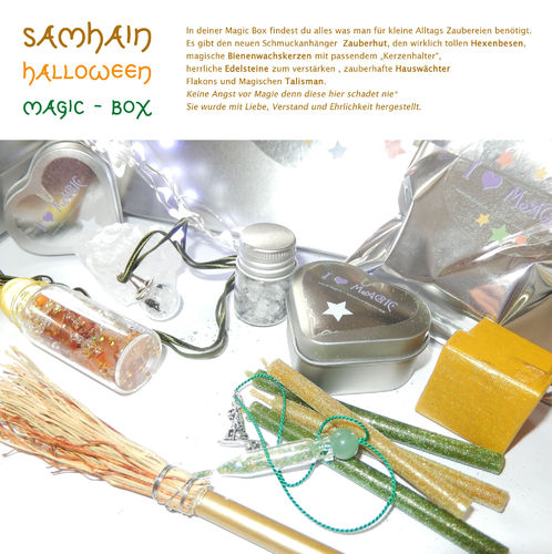 Samhain Magic Box 11 teiliges Magie Set